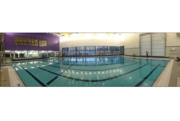 Flitwick Leisure Centre specifies one-coat render