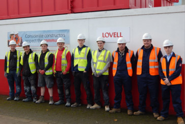 Lovell boosts apprenticeships on King's Lynn regeneration project