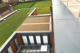 Rainwater solution for Cascading roofs