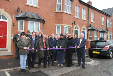Wales' first urban housing co-operative officially opened