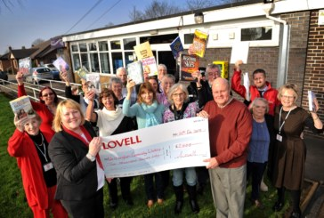 Lovell provides funding lifeline for pioneering Staffordshire village library and community centre