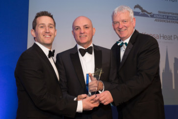 'Best Small Client' award for Shropshire Rural Housing Association and Kensa Heat Pumps