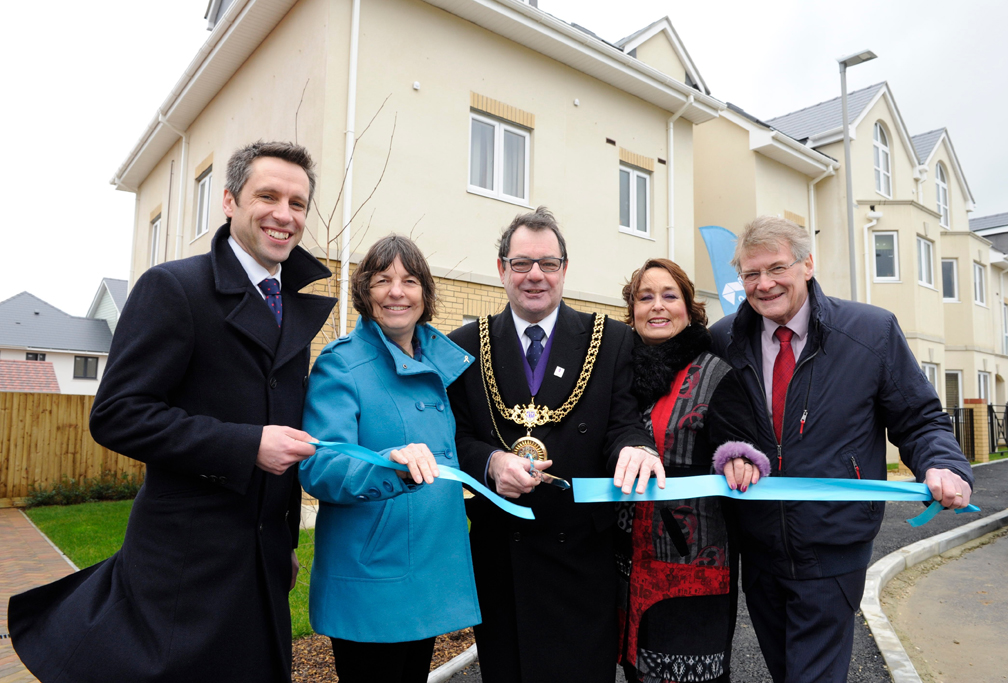 Stonewater completes 46 affordable homes to help priced-out Dorset locals