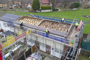 Going beyond Building Regulations to ensure the roofs on social housing properties comply with BS 5534