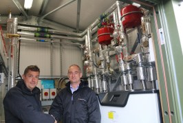 First communal domestic GSHP installation in the East of England to benefit Flagship Group residents