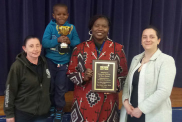 Council housing residents receive fire door safety award