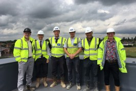 Extra care facility reaches great heights in Newark