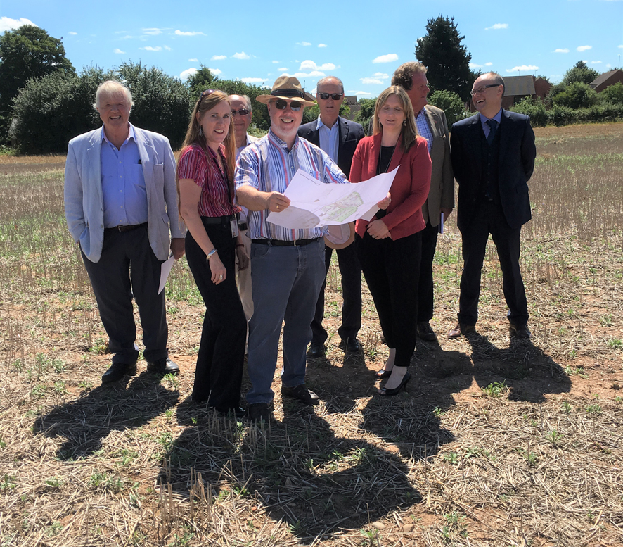 Warwickshire Rural Housing Association showcases latest developments during Rural Housing Week