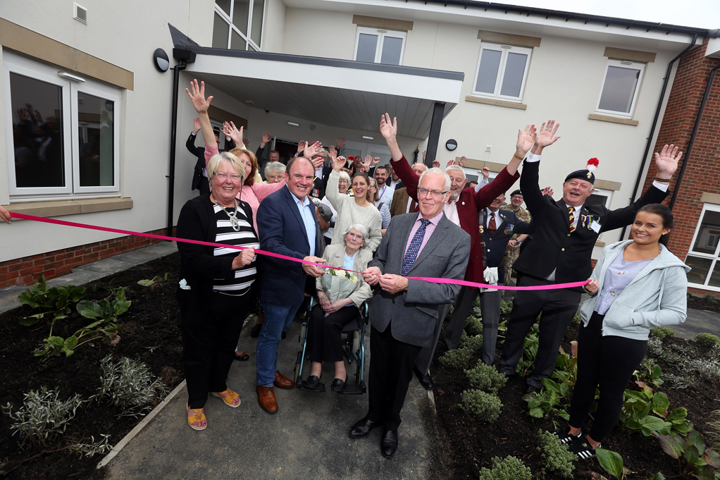 New housing scheme for older people and dementia sufferers honours local World War I heroes