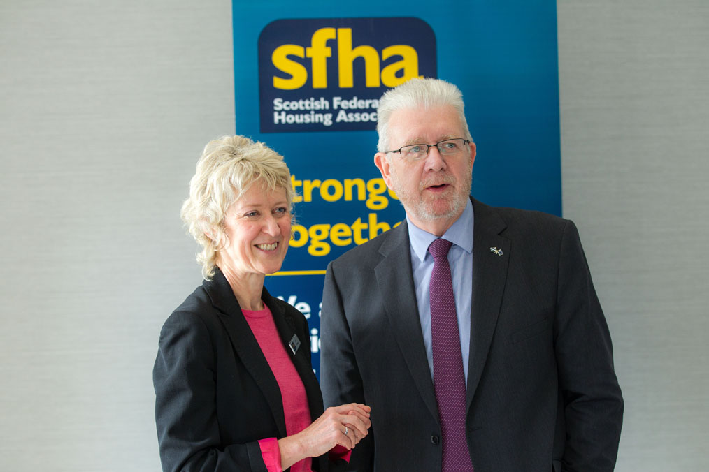 New SFHA chief executive outlines her vision for the federation and sector