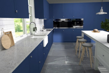 The appearance of marble with the durability of quartz