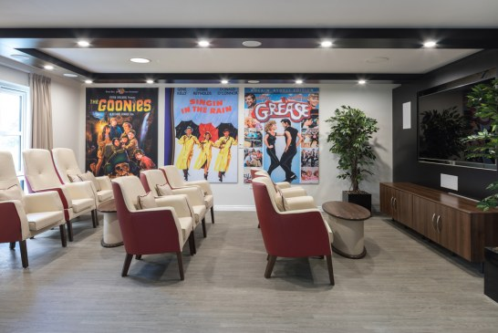 Altro creates home from home look for care home