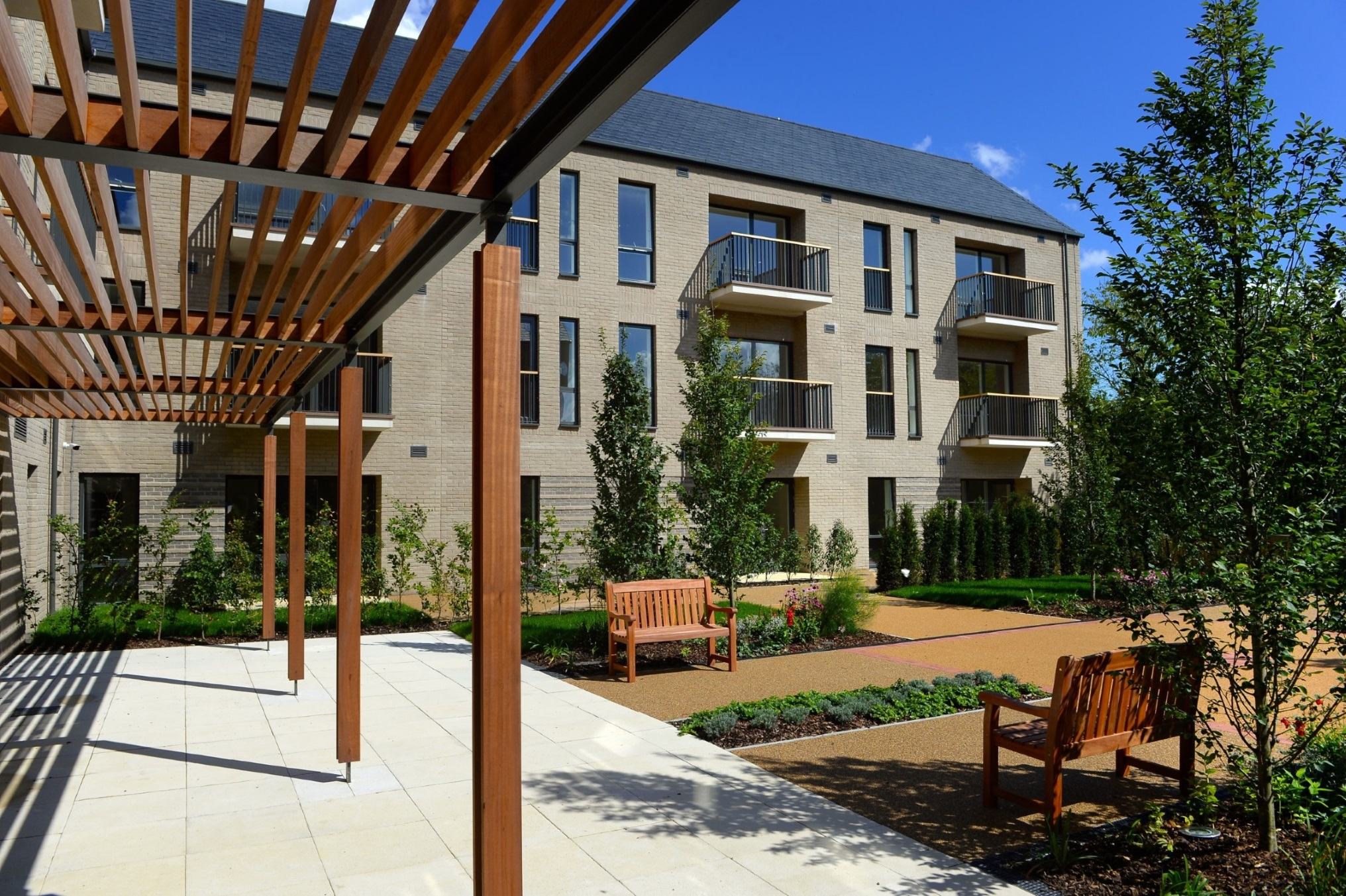 Lovell-built Lapwing Apartments in Peterborough 'Highly Commended' in national industry awards