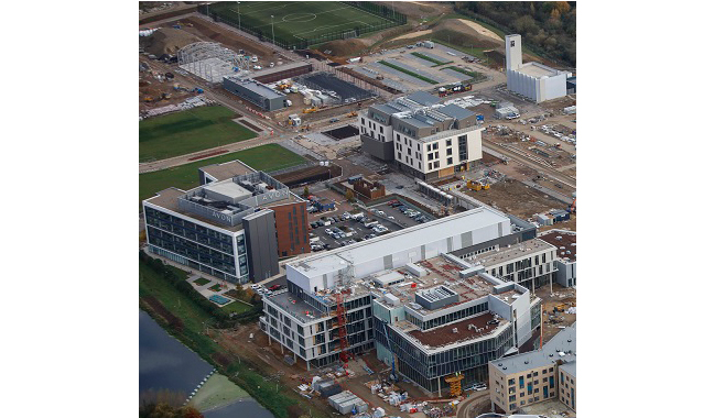 Waterside campus creates new jobs for Northamptonshire residents