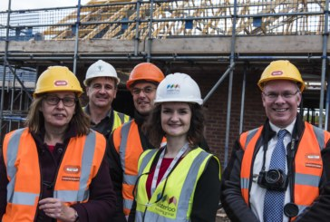 Councillors treated to preview of Warwickshire affordable housing development