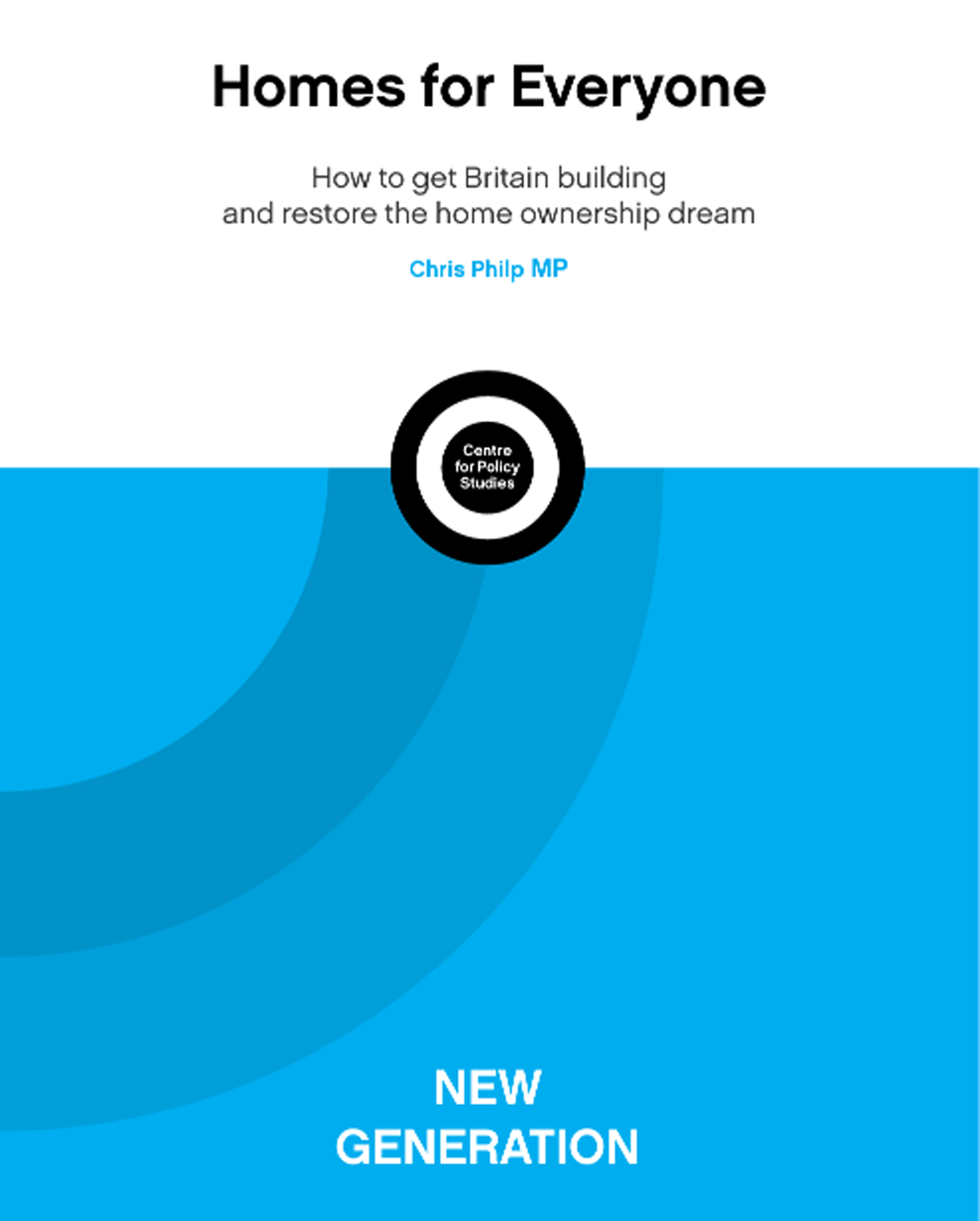 New report proposes further reform of the planning system to increase homebuilding