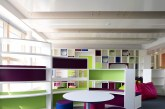 Radiant panels in classrooms