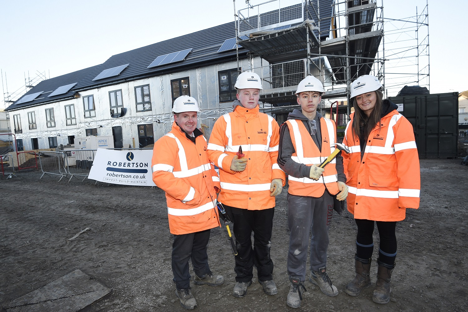Robertson offers Edinburgh students a taste of the construction industry