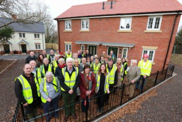 Open house celebrations for West Dorset community land trust projects