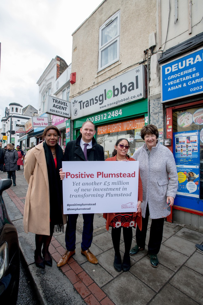 Plumstead is set to benefit from more regeneration with another £5m secured for improvements to the High Street