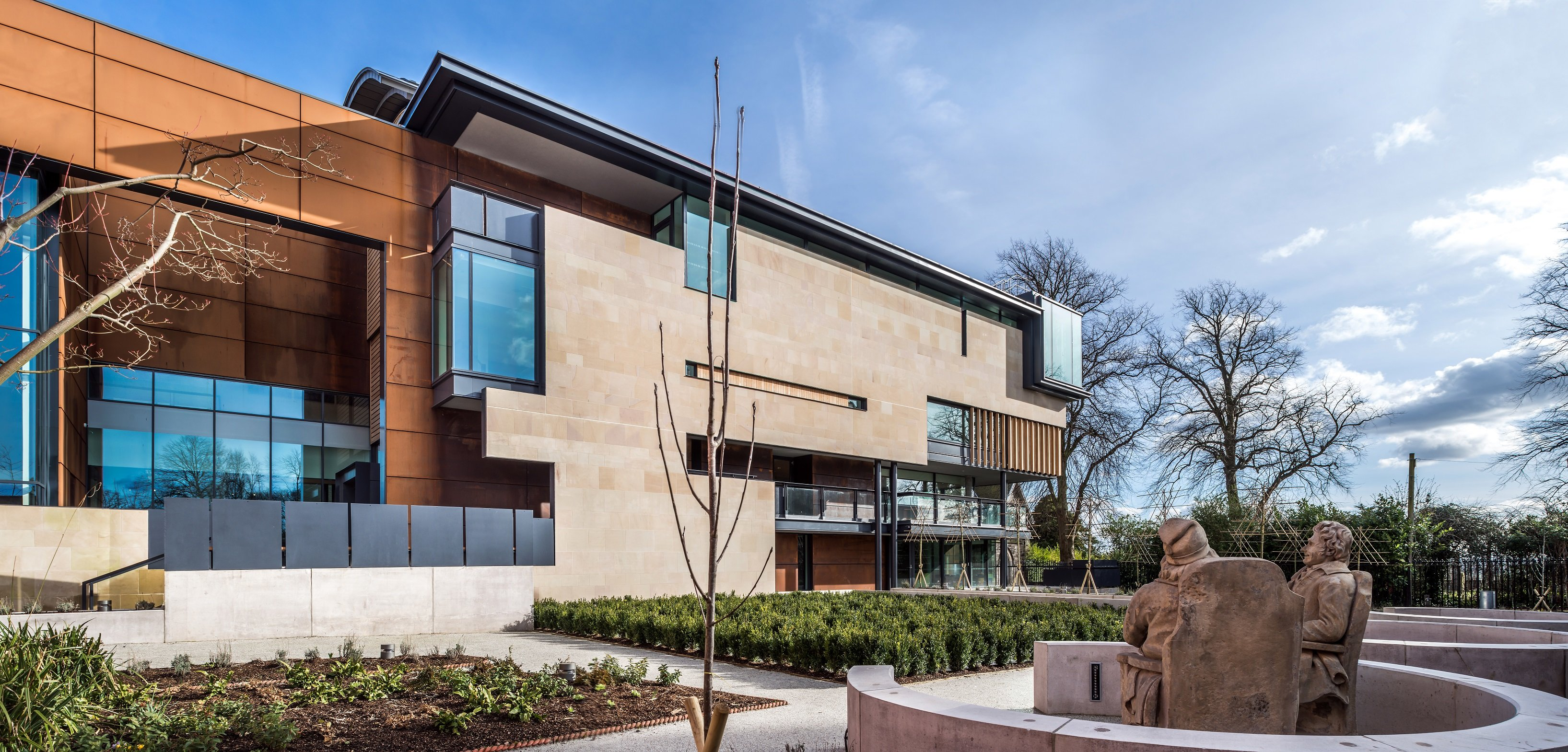 CMS meets contemporary glazing brief for Carnegie Library project