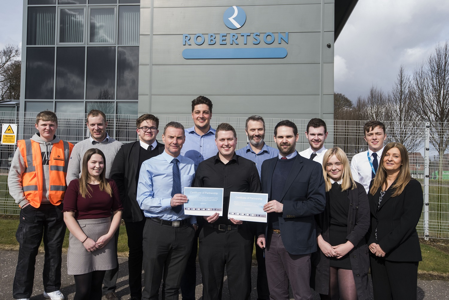 Mentorship scheme set up to help Dundee pupils into construction