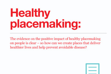 Research finds that healthy placemaking could reduce costs and pressures on government and the NHS