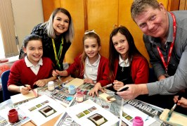 Hedgehogs and housebuilding activities for Iron Acton pupils