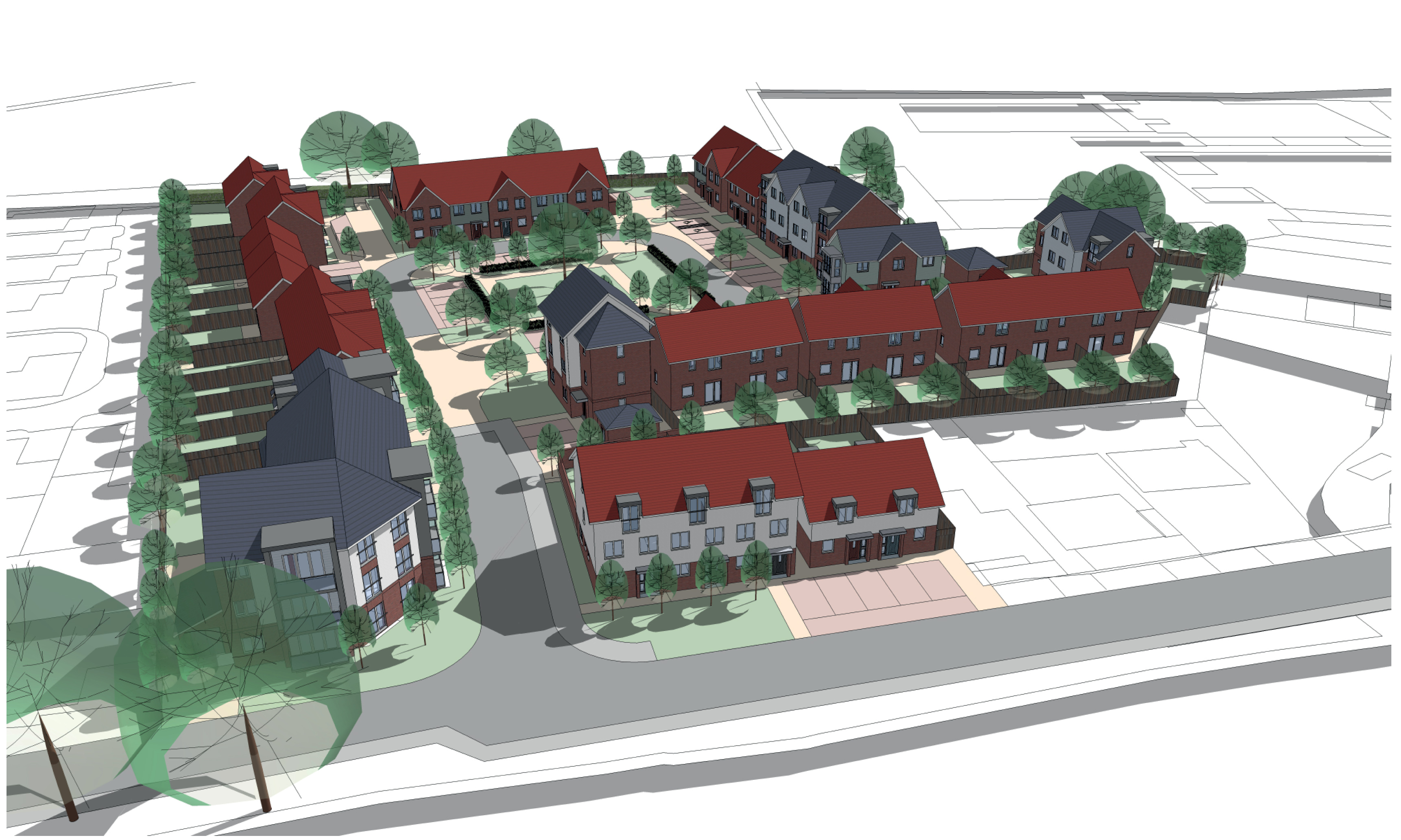 Hightown to deliver 100% affordable homes at Rossway Drive, Bushey