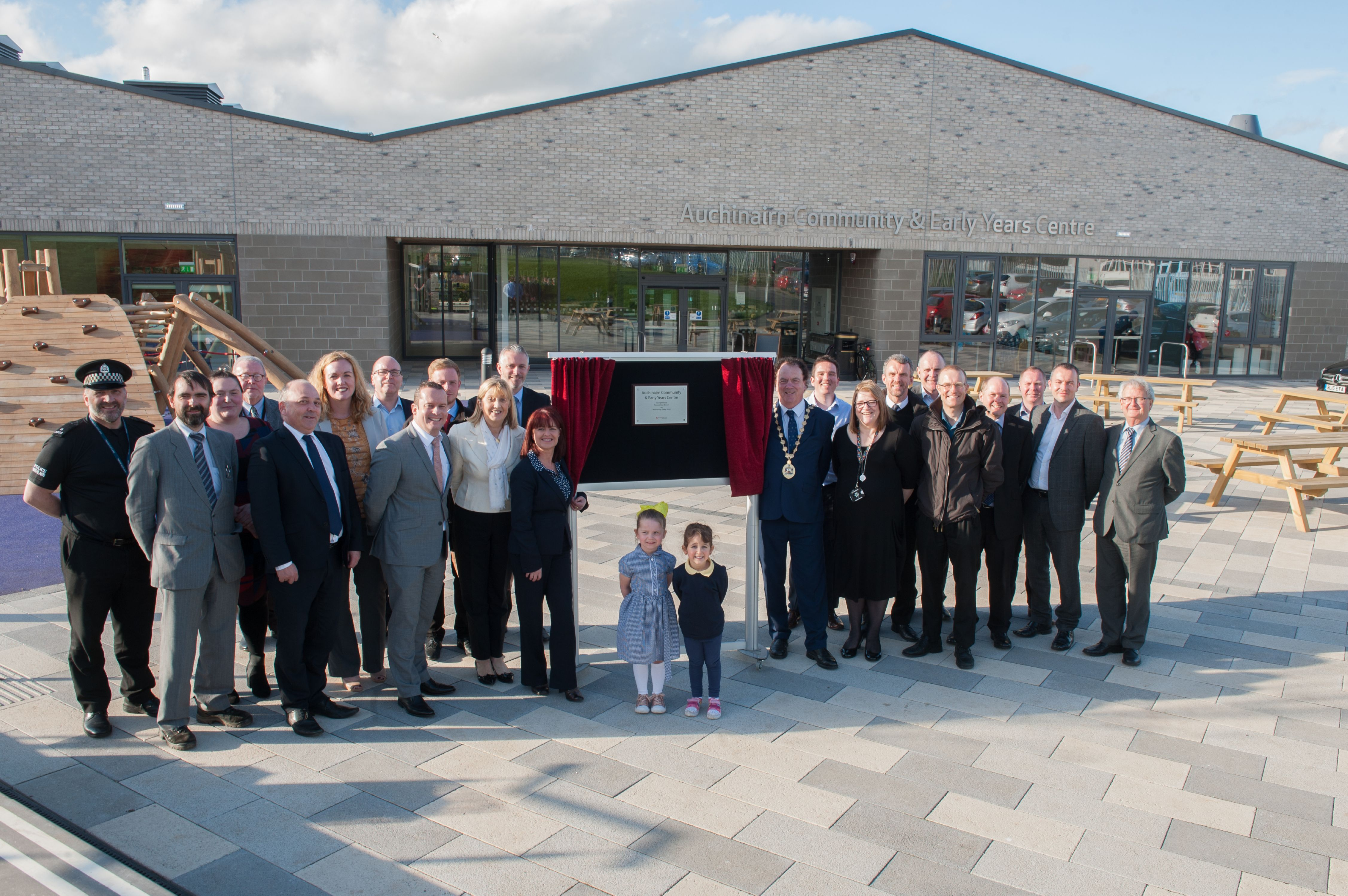 Construction completes on £4.95m Auchinairn community facility