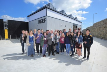 Students place their hands on new renewable research centre
