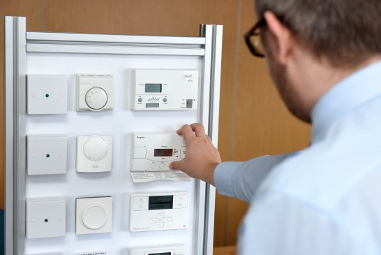 Housing association support staff get hands-on help with heating and hot water