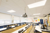 Hastings High School updates its lighting system