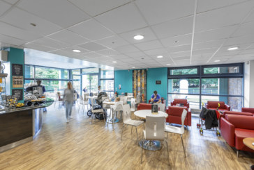 Thorn creates a brighter atmosphere for library users