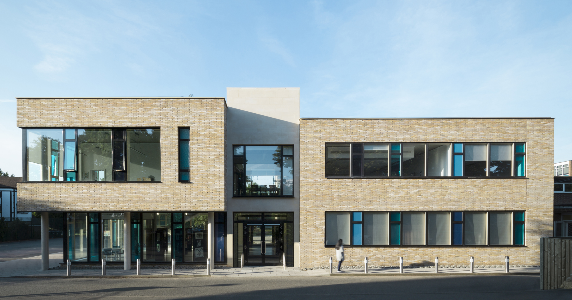 A design-led approach to creating a new school entrance building