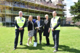 Groundbreaking ceremony for £15.8m renovation of historic Brookfield House