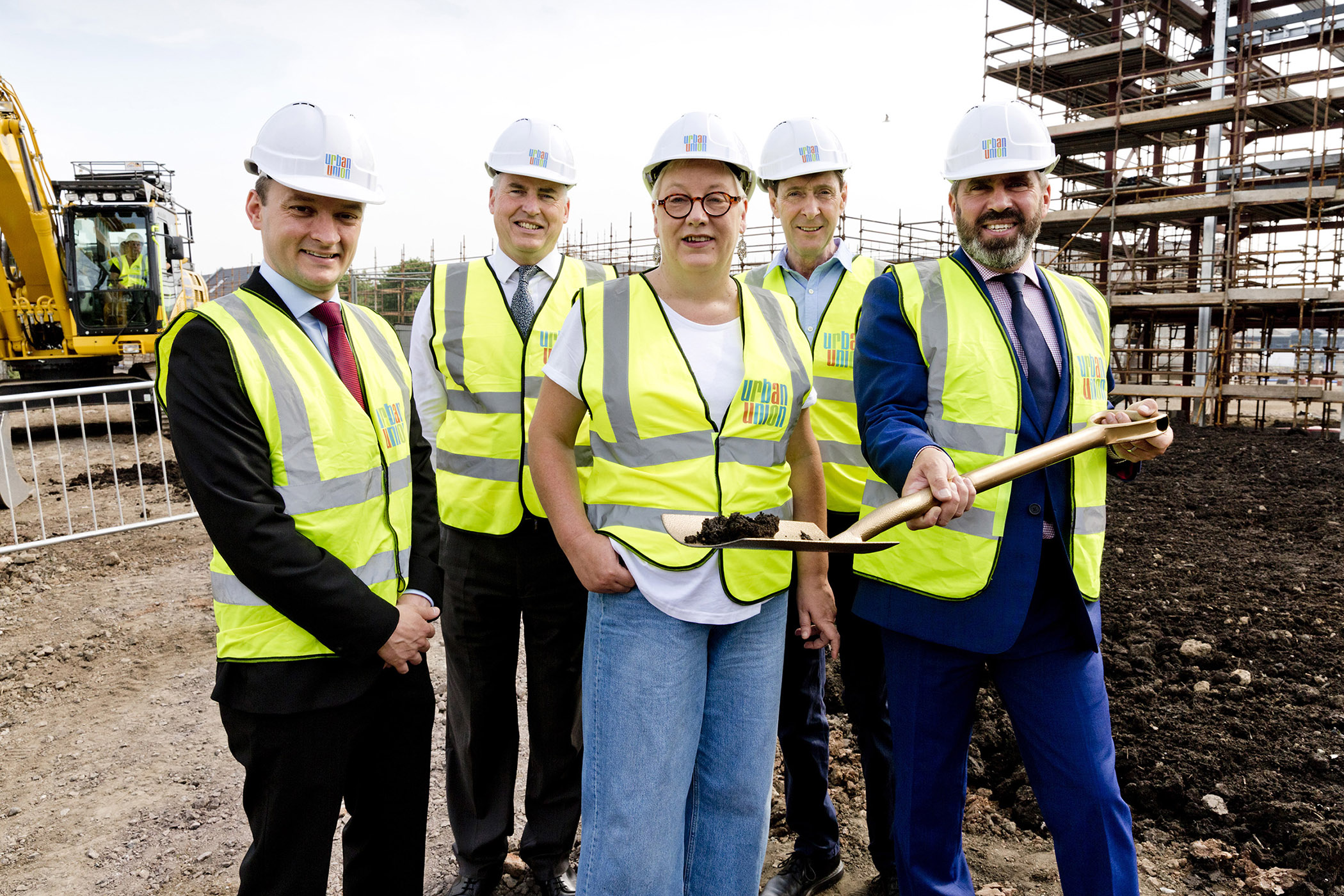 Sod cutting held at next phase of Laurieston Living