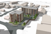Planning proposals submitted to transform car repair site into 44 affordable homes