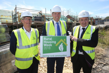 CDHG marks Rural Housing Week as first of 40 new affordable homes in Crook nears completion