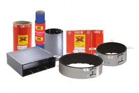 Complete fire ducting protection range