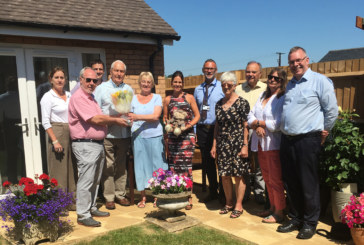 Local couple help celebrate Rural Housing Week in with WRHA