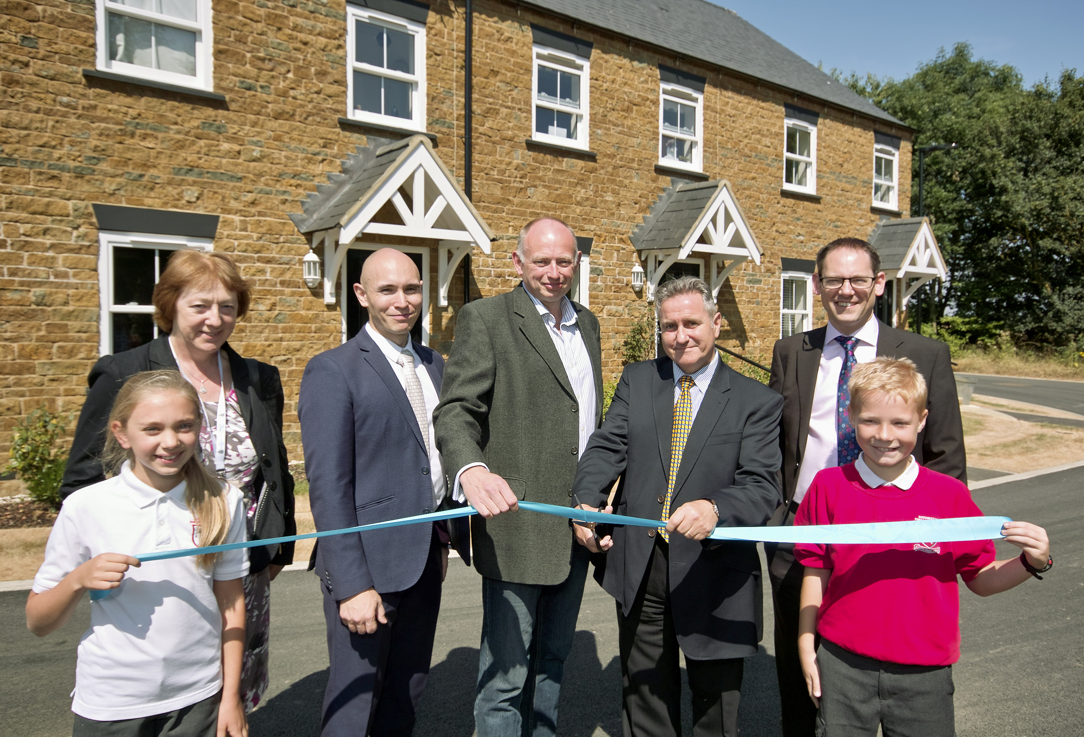 Stonewater completes 30 affordable homes in Deddington