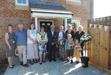 Four generations help celebrate Rural Housing Week in Yarwell