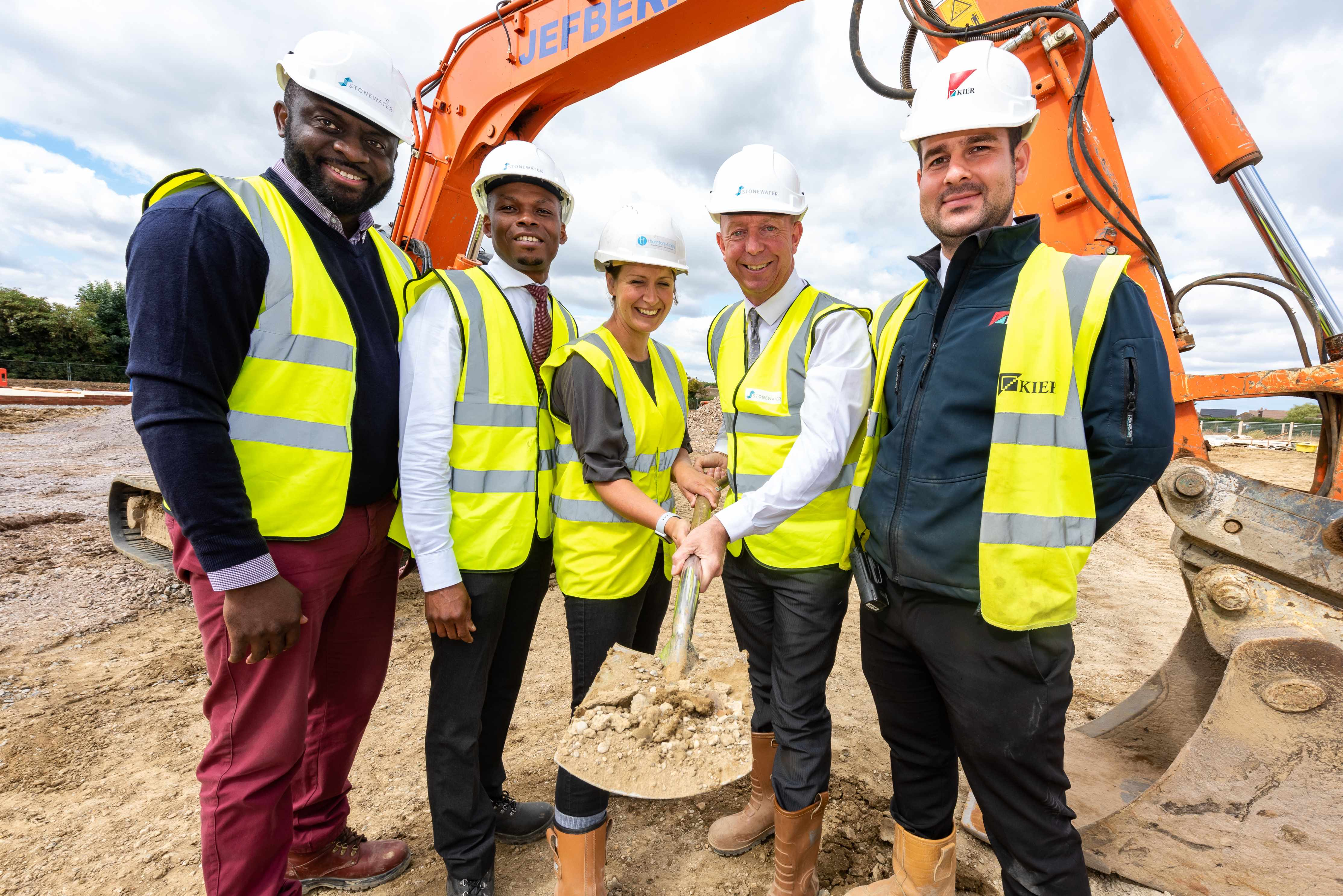 Stonewater financing the construction of 44 affordable homes in the village of Houghton Conquest