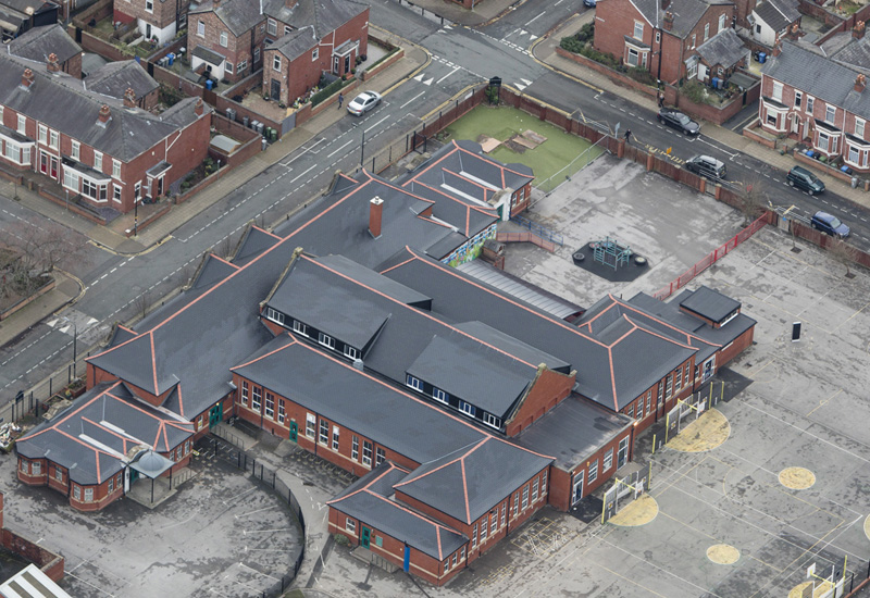 School opts for sustainable roofing
