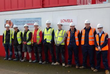 Lovell boosts apprenticeships on King's Lynn regeneration project