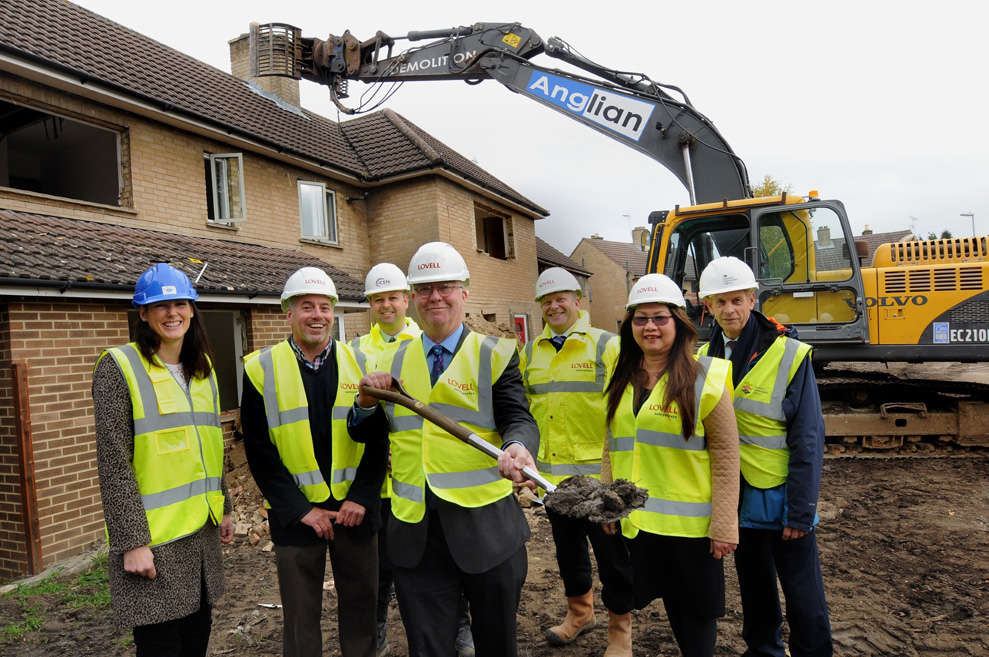 Regeneration project to create 50 affordable homes in Cambridge