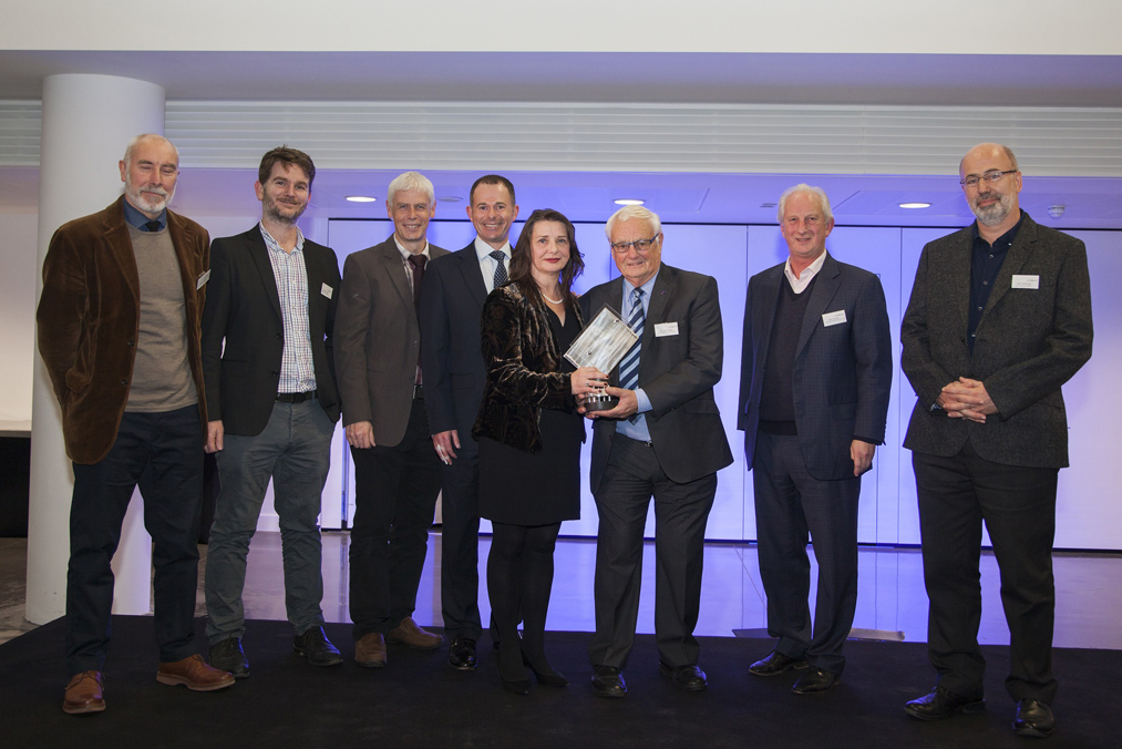 Council celebrate school design award in memory of lead architect