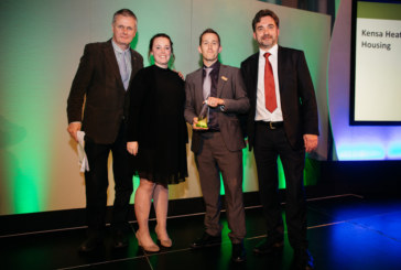 First of its kind renewable heating upgrade wins award