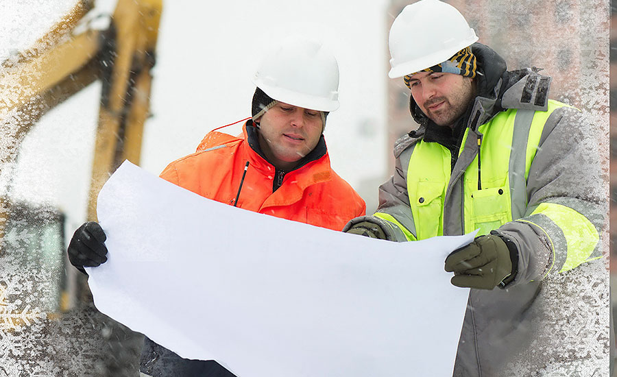 Advice for contractors on how to stay warm on site